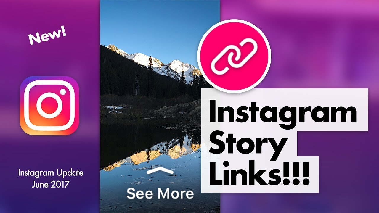 How to add links to Instagram story