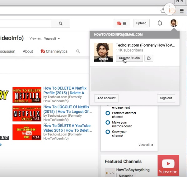 How to see your subscribers on youtube  – Blog