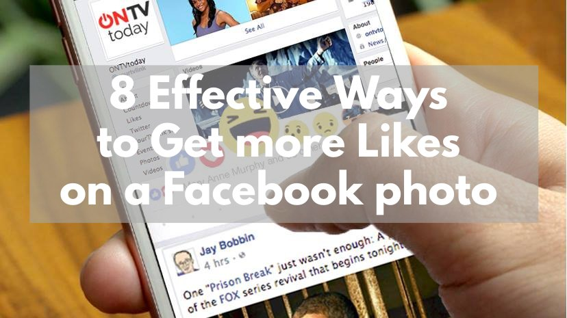 8 Effective Ways to get more Likes on a Facebook photo