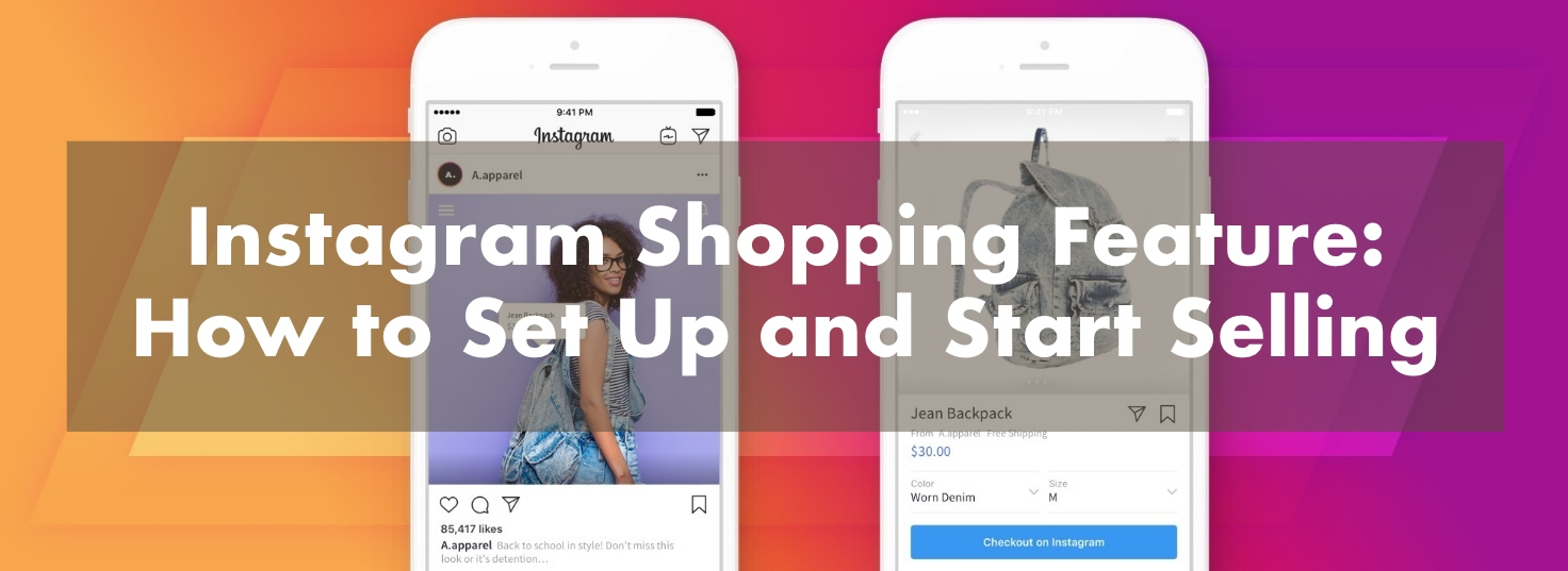 how to set up instagram shop and start selling
